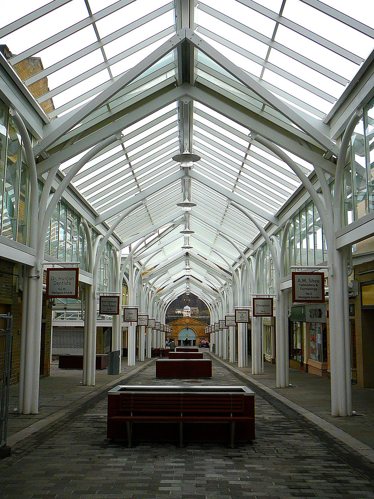 westgate arcade halifax formed by taking a street and gla flickr
