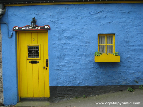 ... Blue House Yellow Door | by Patty Mooney & Blue House Yellow Door | A blue house with a yellow door anu2026 | Flickr
