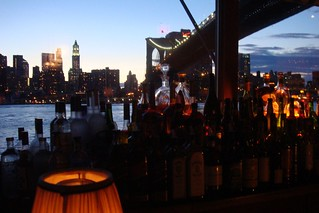 sweet view; Brooklyn's River Café | by Global Jet