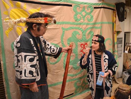 """「アイヌ文化ツアー」アイヌ音楽に触れる (""""Ainu culture tour"""" Listen to Ainu music)"""