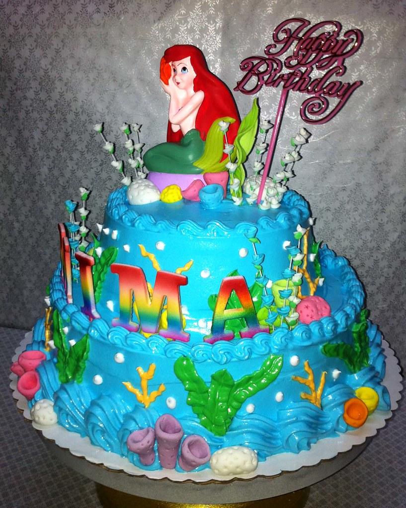 Mimas Little Mermaid Birthday Cake Sweet Creamz Flickr