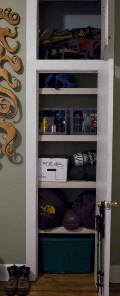 ... Gear Closet, Finally Organized | By Stusic