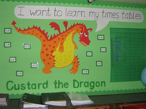 ... . It was then used by my teaching friend for her times table display