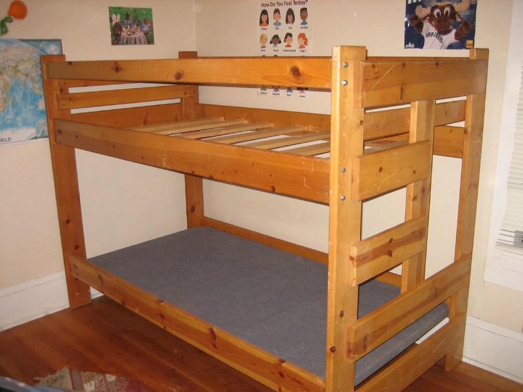Bunk Bed D Model