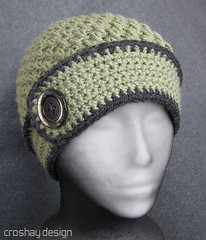 button band flapper hat | by croshay