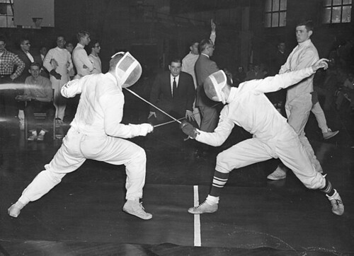 Fencing duel | by uwdigitalcollections