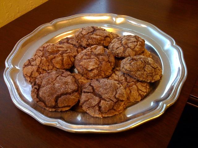 Chocolate Crackle Cookies Recipe Cocoa