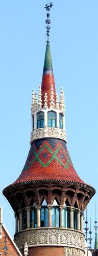 Barcelona diagonal 420 06 casa de les punxes 1905 archit flickr - Casa de las punxes ...