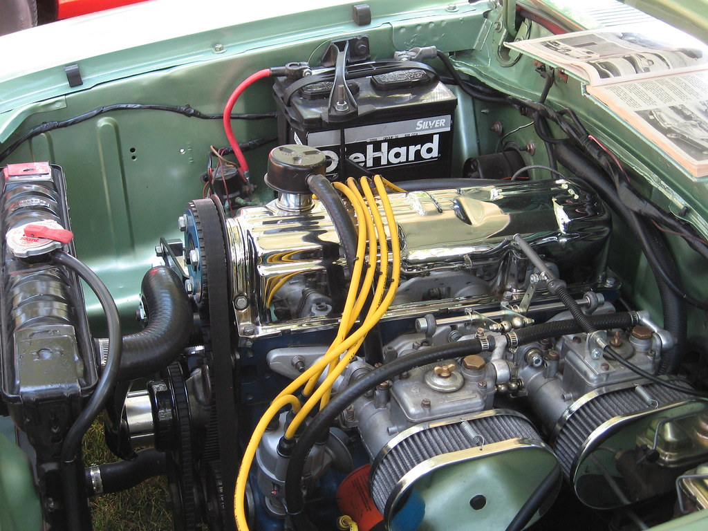 Views >> 1972 Ford Pinto Boss Engine | 15th Good Guys Summer Get-Toge… | Flickr