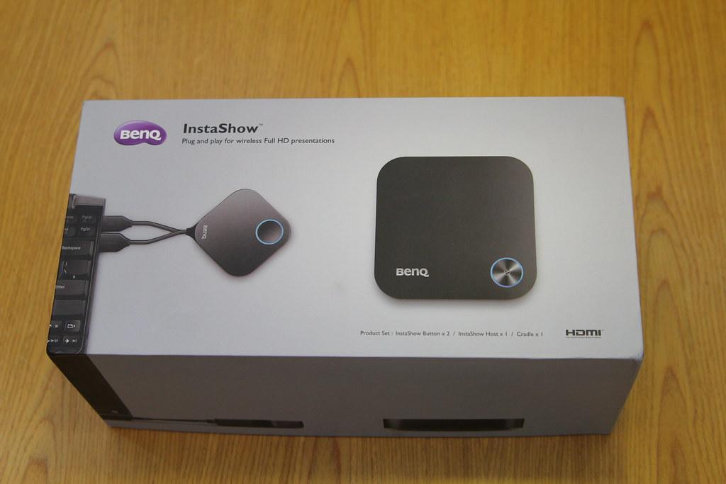 Mở hộp và đánh giá nhanh InstaShow - Thiết bị trình chiếu không dây đến từ BenQ