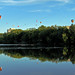 Ottawa Balloon Festival reflected in Rideau River