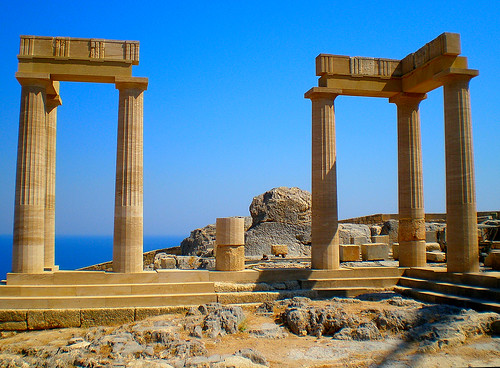 Ακρόπολη Λίνδου - Ρόδος /  Lindos Acropolis - Rhodes Greece | by pantherinia_hd Anna A.