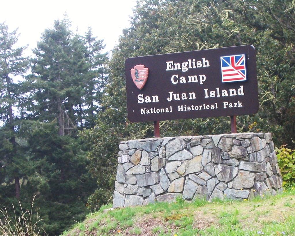 San Juan Island National Historical Park English Camp