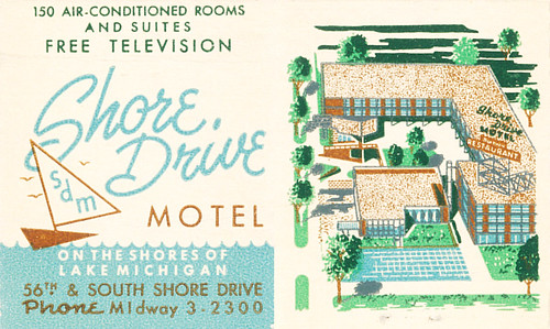 Shore Drive Motel, Chicago, Illinois | by jericl cat