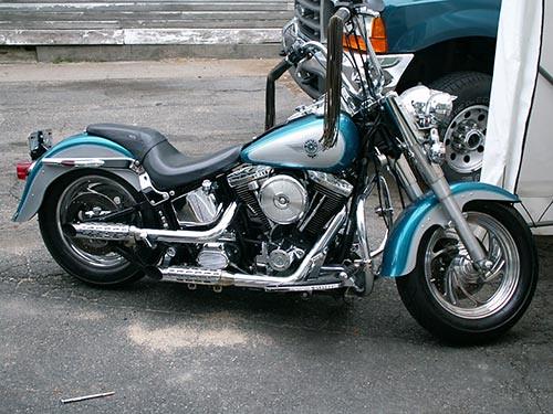 2299866739on Harley Davidson Heritage Softail