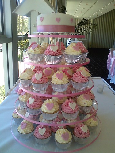 February Wedding Aust Cake Display