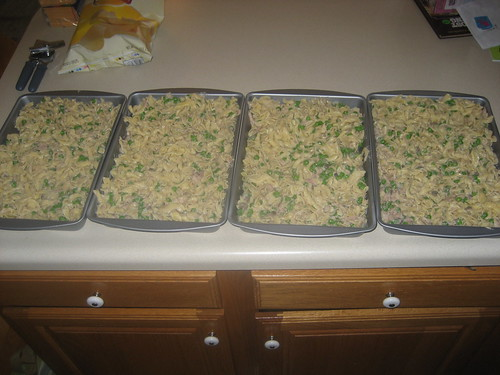 Four mostly-finished casseroles | by trenttsd
