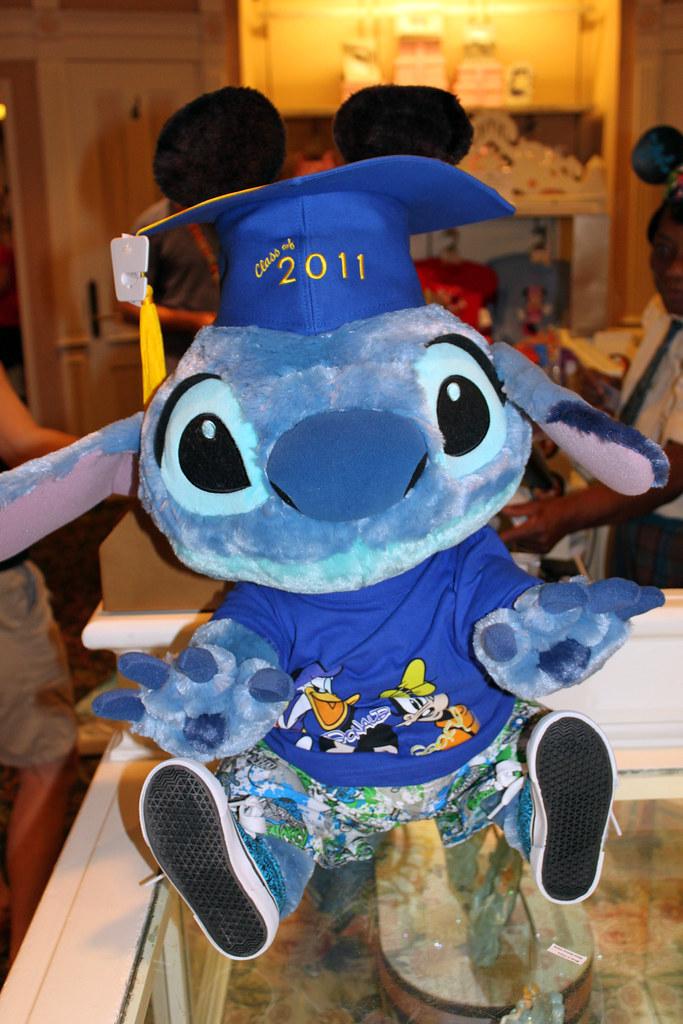 Cute Graduation Stitch In The Emporium Magic Kingdom