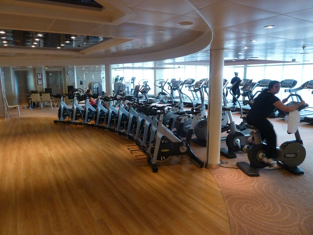 Cunard queen elizabeth gym gary bembridge flickr