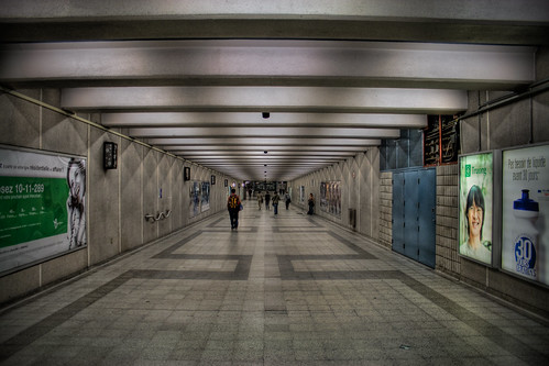 *Underground* Traveling in Montreal's belly | by Michel Filion