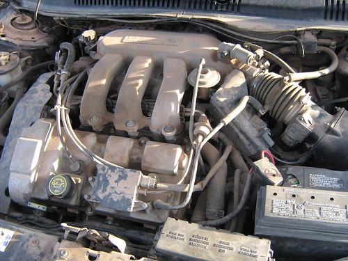 1998 Ford Taurus Wagon Engine Dohc 3 0l V6 This Is