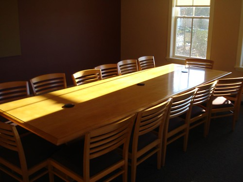 Senior Center: Conference room in back