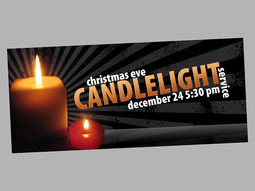 candlelight service promo | by @chadmaag