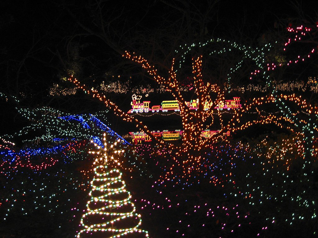 Bellingrath Gardens Christmas Lights 2007 Fowl River Al