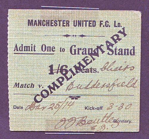Manchester United 3 1 Huddersfield Result: Manchester United V Huddersfield Town Match Ticket For Sea