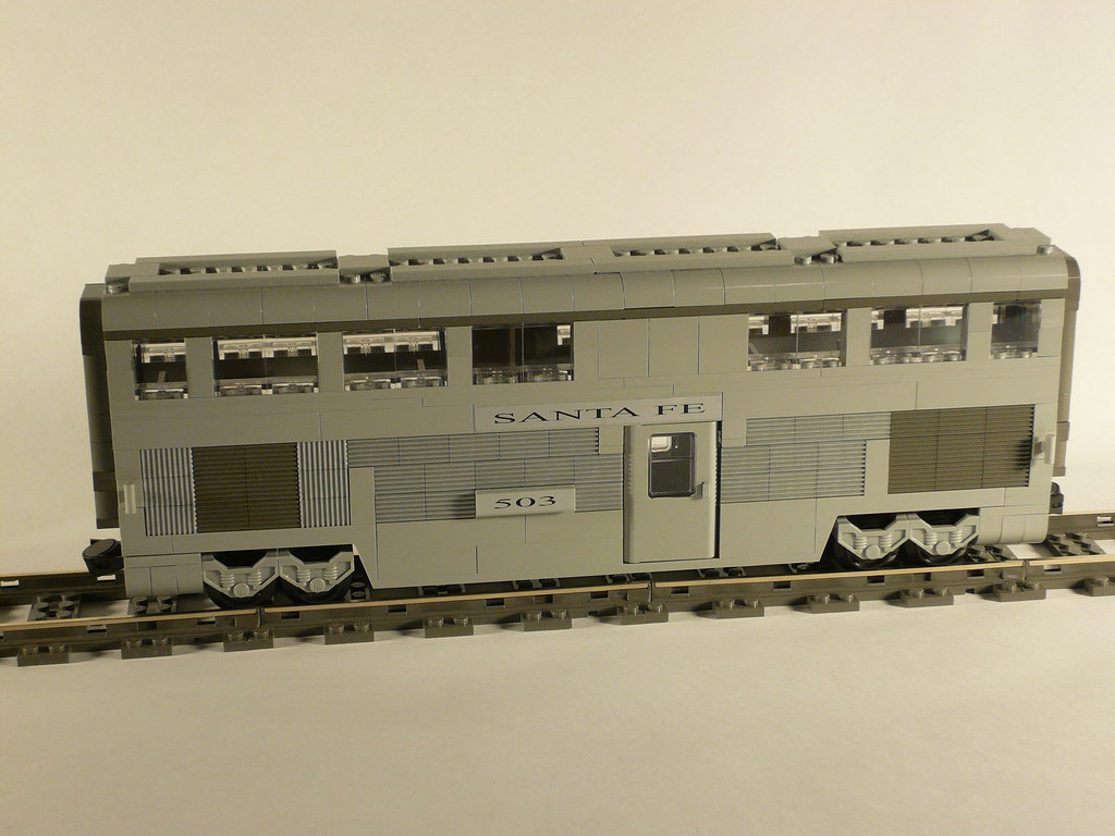 Car Parts List >> LEGO Santa Fe Hi-Level El Capitan Dining Car (James Mathis… | Flickr