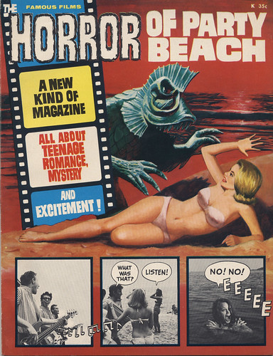 The Horror of Party Beach | by willceau