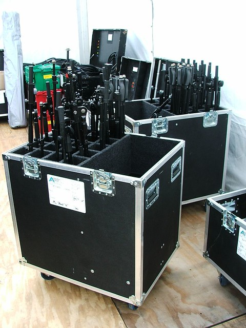 Mic Stand Case 20 Unit Mic Stand Cases In Use At The