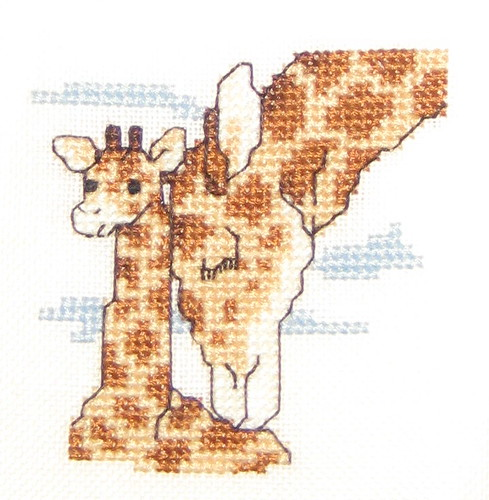 Giraffe Mother and Baby Cross Stitch | by sdixclifford