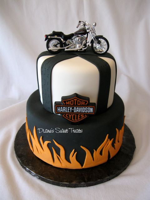 Cake Designs Manly : harley cake - as seen in Explore!! :-) for a surprise ...