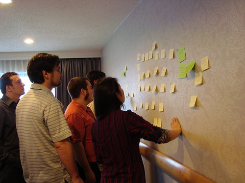 Affinity Diagraming @ FLOSS HCI Workshop at SIGCHI 2010 | by momomomo