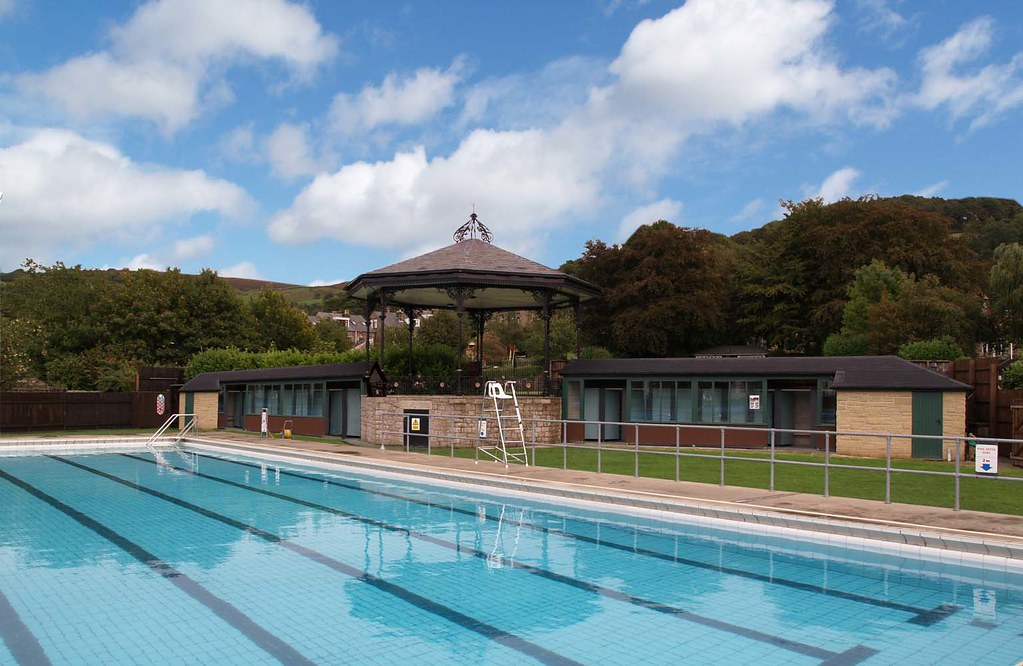 Hathersage open air heated swimming pool camera does lie - Hathersage open air swimming pool ...