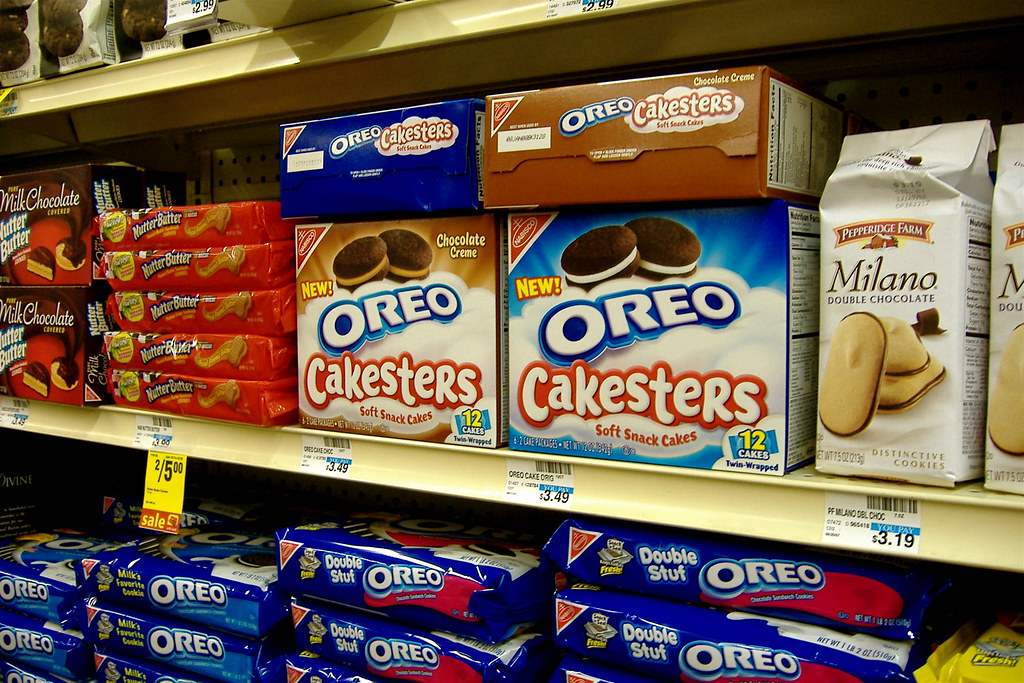 oreo cakesters not quite a cookie evidently more like a