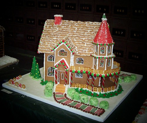 Gingerbread House Winner 2007 Blue Ribbon First Prize At