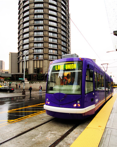 Seattle Streetcar - South Lake Union Line | by WintrHawk