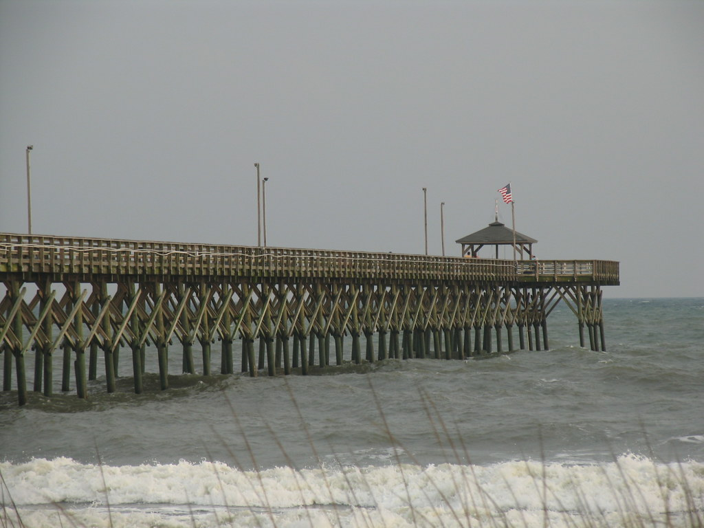 Oak island fishing pier adam prince flickr for Oak island fishing report