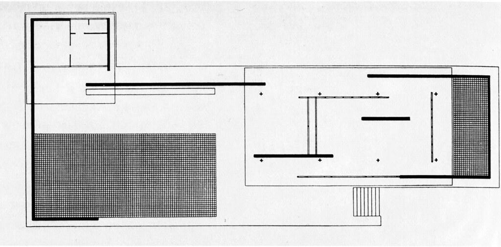 Mies Van Der Rohe Pabellon De Barcelona 1929 Planta Flickr