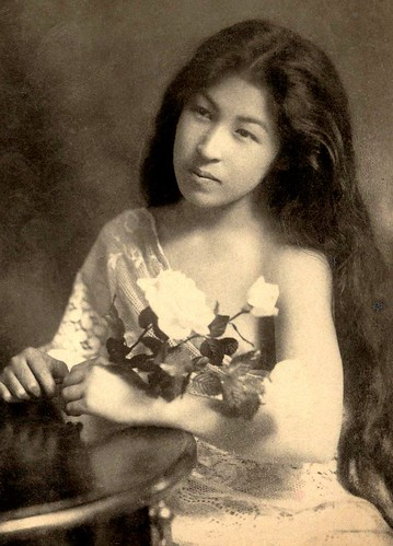 LONG HAIRED BEAUTY OF OLD JAPAN -- The Transformation of a