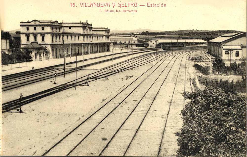 Estaci de vilanova i la geltr museu del ferrocarril de - Japones vilanova i la geltru ...