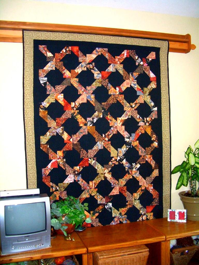 Fun Patch Quilt | Kona Bay Asian Prints | Sally | Flickr