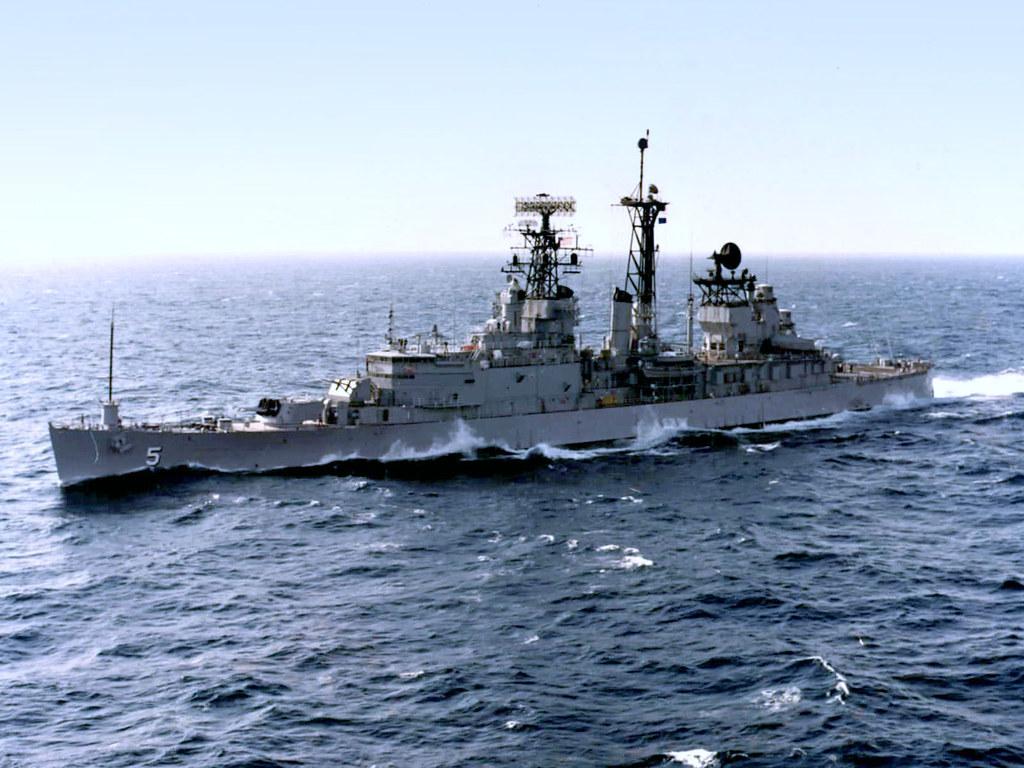USS Oklahoma City CLG 5 US Navy