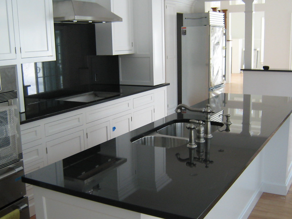 Lovely ... Absolute Black Granite Countertops | By Superior M U0026 G