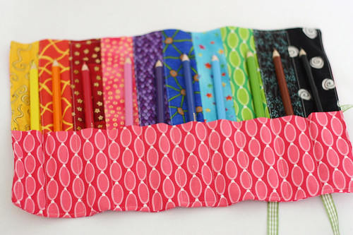 Pencil Roll Pattern In Last Minute Patchwork And Quilted