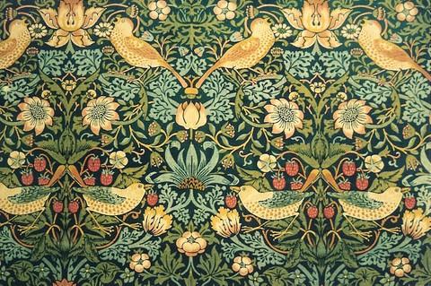 The Strawberry Thief William Morris Design At The V Amp A