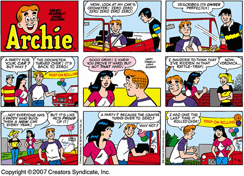 Image result for archie comic strip images