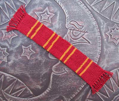 Knit Harry Potter Scarf Pattern : Harry Potter Scarf Bookmark Knit Pattern Harry Potter Scar? Flickr